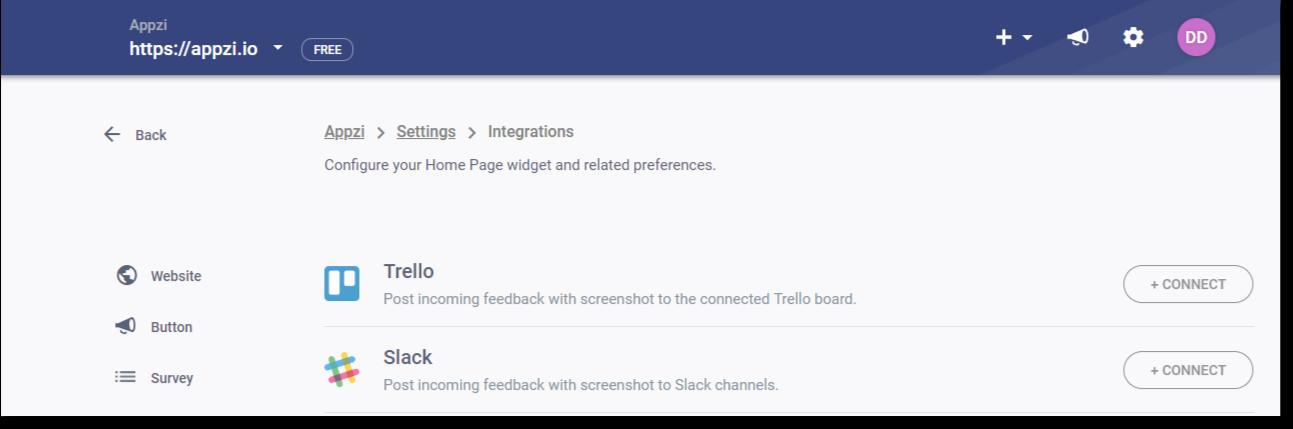 integrate feedback tool with slack