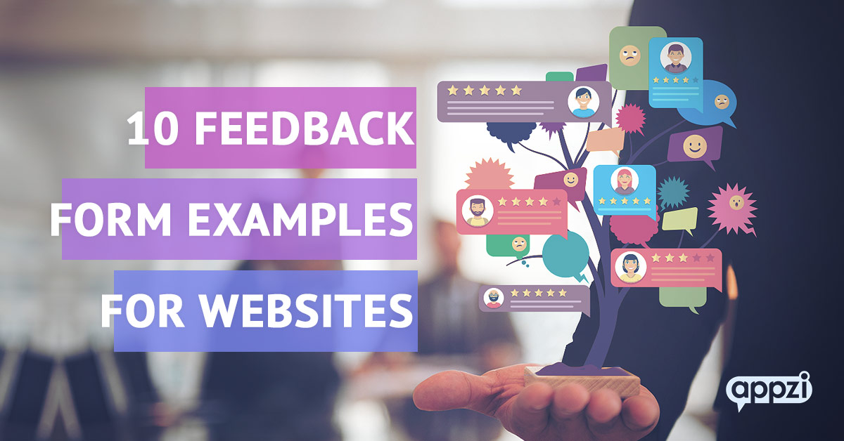 10 Feedback Form Examples for Websites You'll Want to Copy Immediately!