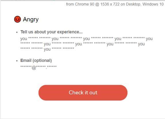 profanity masking in emails