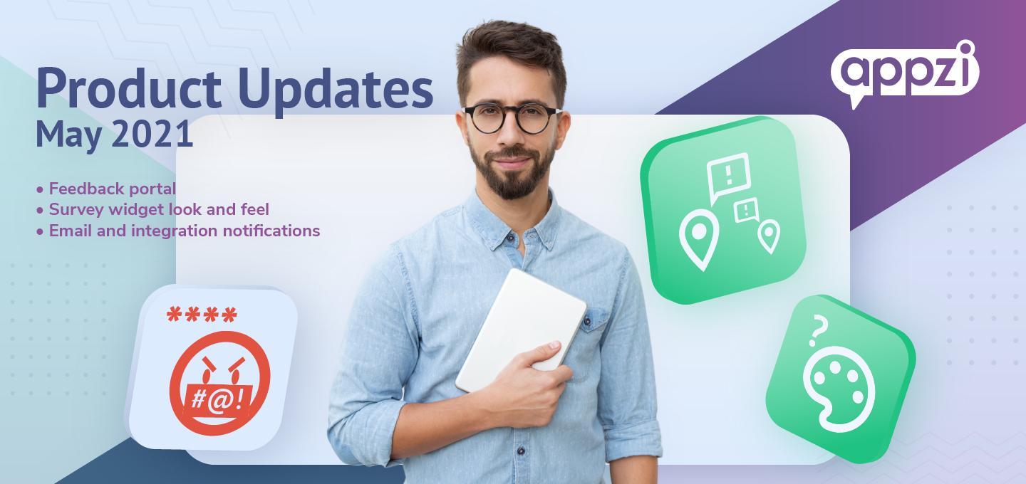 May Product Update: Focus on Constructive Feedback, Let Users Ask Questions, Get Valuable Notifications & More