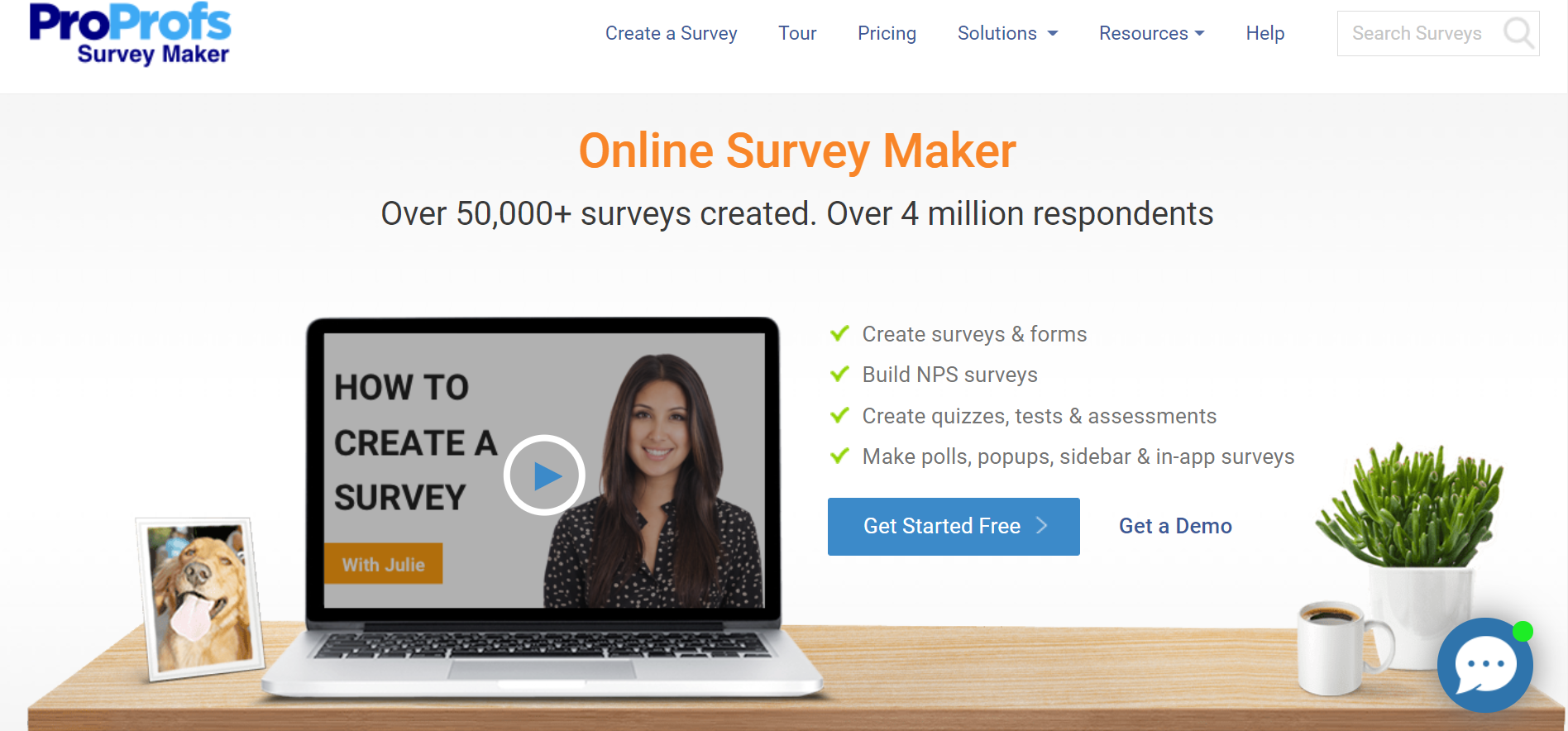 ProProfs Survey Maker Hero Image
